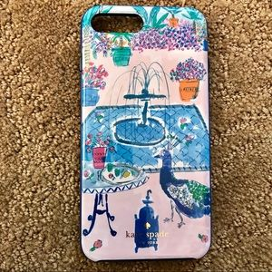 Kate Spade IPhone 6, 7 Plus case with diamonds